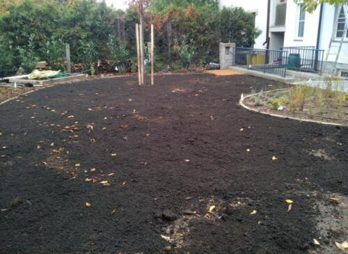 Modelace terénu - realizace zahrady